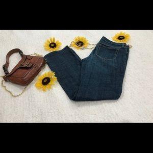 BANANA REPUBLIC Straight Leg Blue Jeans 30 / 10R